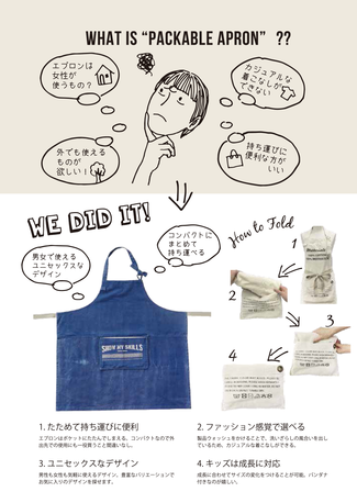WHAT IS PACKABLE APRON